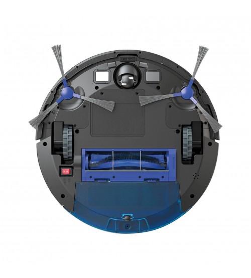 Nubia Eutopia R550 Hepa Siyah Filtreli Islak / Kuru Akıllı Robot Süpürge