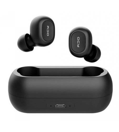 QCY T1C Çift Mikrofonlu Şarj Edilebilir Bluetooth 5.0 Kulaklık