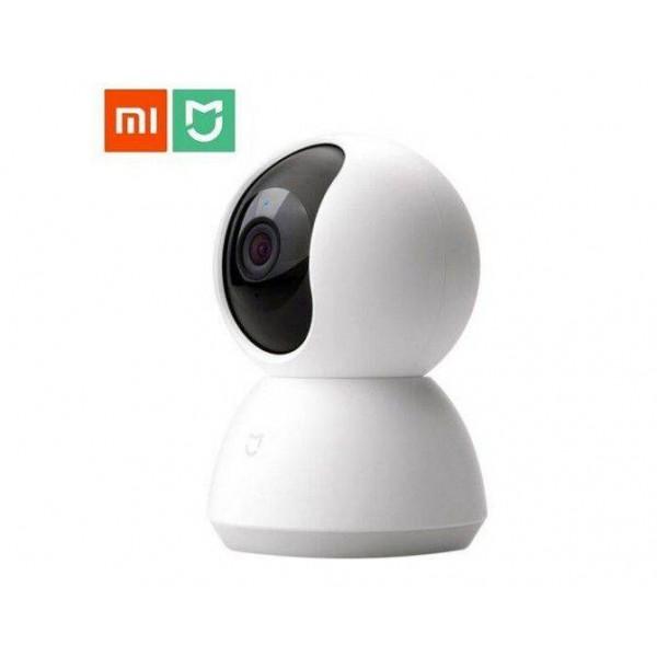 Xiaomi Mijia Smart Home 360 Derece Dönebilen Kızılötesi Gece Görüşlü IP Kamera Full HD 1080p