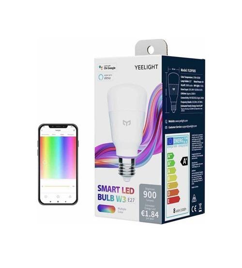 Yeelight Çok Renkli Akıllı LED Ampul W3 (YLDP005)