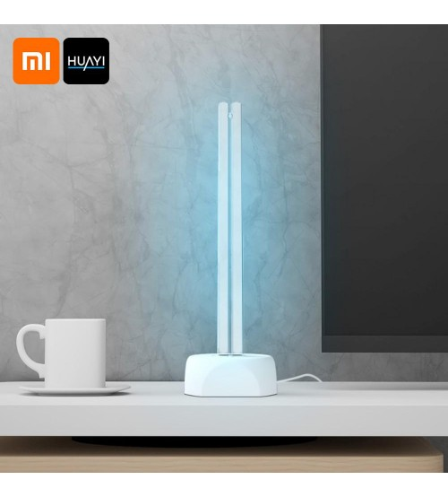 Xiaomi Huayi UV Işık Antiseptik Sterilizatör Masa Lambası - COVID19 ETKİLİ