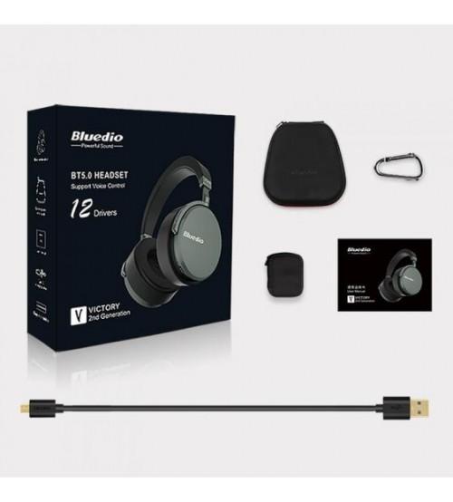 Bluedio Victory V2 Kulak Üstü Bluetooth Kulaklık