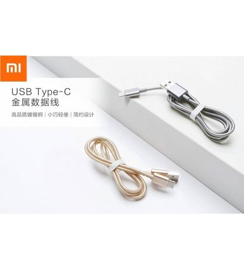 Xiaomi USB Type-C Hızlı Şarj Destekli Örgülü Metal USB Kablo