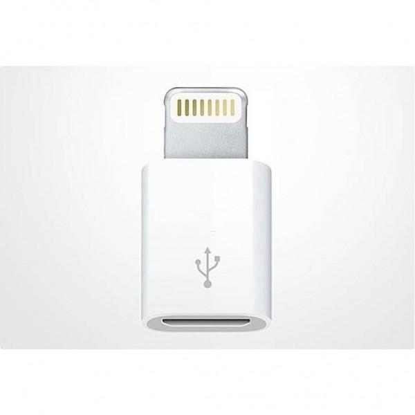 Apple Lightning - Micro USB Adaptörü Orjinal MD820ZM/A