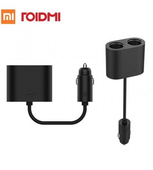 Original Xiaomi ROIDMI Araç Şarjı Çoğaltıcısı