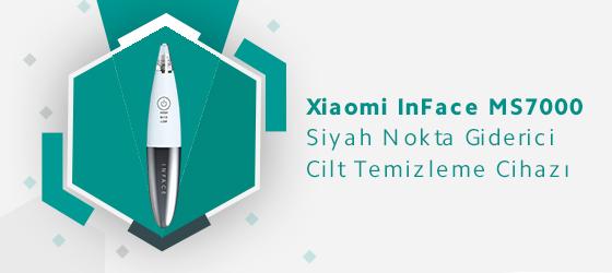 Xiaomi Inface MS7000 Siyah Nokta Giderici Cilt Temizleme Cihazı